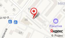 Апартаменты Проезд Ветеранов 10 на карте