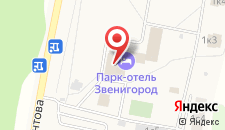 Отель Гелиопарк Талассо на карте