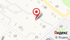 Гостевой дом Тишина на карте