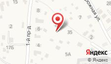 Хостел Мой дворик на карте