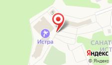 Санаторий & SPA Истра на карте