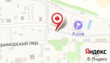Отель-пансионат Азов на карте