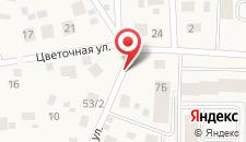Мини-гостиница Уютная на карте