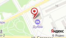 Гостиница Дубна корпус 3 на карте