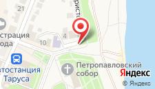 Хостел Дубровский на карте