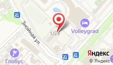 Гостиница Hellas на карте