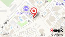 Отель Марракеш Gold на карте