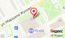 Гостиница Волейбольно-спортивный комплекс на карте
