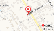 Гостевой дом на Горького на карте