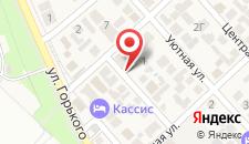 Гостевой дом Спартак на карте