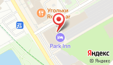 Гостиница Park Inn by Radisson Odintsovo на карте