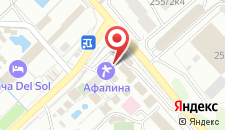 Туристский комплекс Афалина на карте