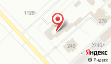 Отель Селена на карте