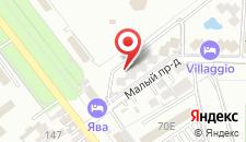 Гостевой дом Романтика на карте