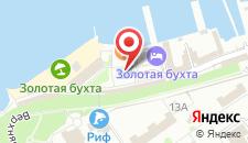 Отель Золотая бухта на карте