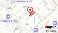 Пансионат Шихан на карте