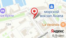 Отель Евразия на карте