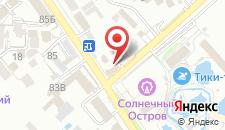 Отель Шарм на карте