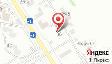 Пансионат Анапа-Лазурная на карте