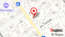 Гостевой дом Виктория на карте