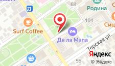 Курортный отель Де Ла Мапа на карте