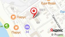 Гостиница Анапа-ПАТИО на карте