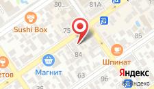 Гостиница Крымская 88 на карте