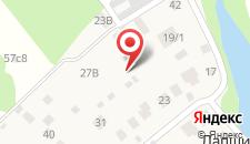 Гостиница Уют на карте