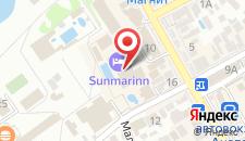 Курортный отель SunMarInn на карте