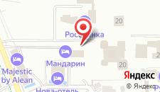 Гостиница Агат на карте