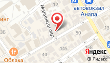 Отель Патио на карте