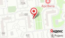 Апартаменты На Чистяковой на карте