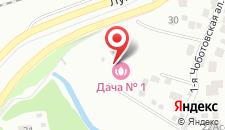 Гостевой дом Дача № 1 в Переделкино на карте
