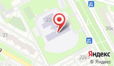 Отель Московский на карте