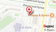 Апартаменты На Павшинском бульваре на карте
