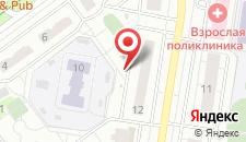 Апартаменты На Павшинском бульваре 12 на карте