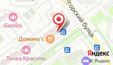 Апартаменты На Подмосковном Бульваре на карте