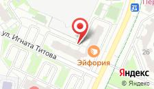 Апартаменты На Красногорской 19 на карте