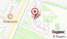 Апартаменты Lux на карте