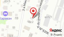 Мини-гостиница Мякинино на карте