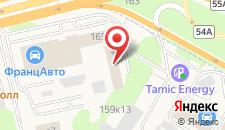 Отель Новая Можайка на карте