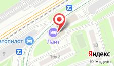 Гостиница Лайт на Барвихинской на карте