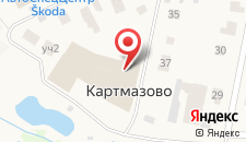 Парк-Отель Внуково Картмазово на карте