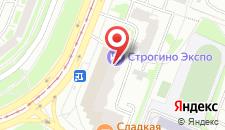 Мини-отель Строгино Экспо на карте
