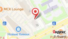 Апартаменты МС Химки Панорама на карте