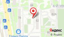 Апартаменты Юбилейный проспект 82а на карте