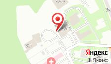 Гостиница MONA на карте