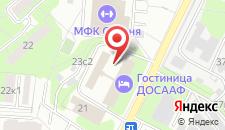 Отель ДОСААФ на Походном проезде на карте