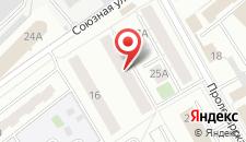 Апартаменты Энгельса 14а на карте