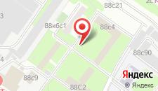 Отель ДОСААФ на Волоколамском Шоссе на карте